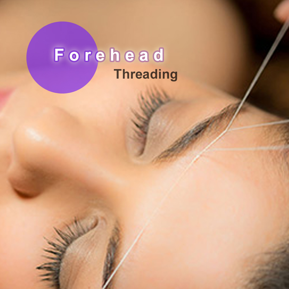 Forehead Threading Iz Eyebrow Threading